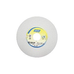 Caixa com 3 Rebolo Afiação e Retíficação Óxido de Alumínio Branco Reto 177,80 x 19 x 31,75 mm FE 38A60KVS