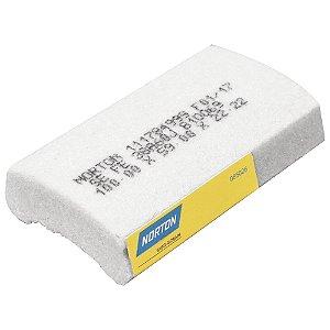 Caixa com 12 Rebolo Afiação e Retíficação Óxido de Alumínio Branco Segmentos 100 x 59 x 22,22 mm FE 38A60J B10069