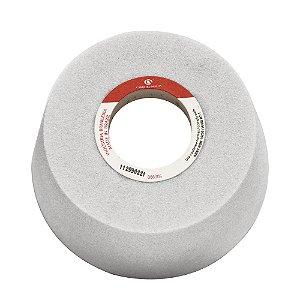 Caixa com 4 Rebolo Ferramentaria Óxido de Alumínio Branco Copo Cônico 101,6 x 50,8 x 31,75 mm 11A AA80 K8V40W