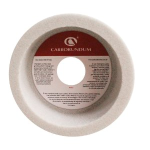 Rebolo Ferramentaria Óxido de Alumínio Branco Copo Reto 127 x 50,8 x 31,75 mm 6A AA46 K8V40W Caixa com 4