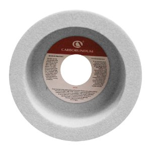 Caixa com 4 Rebolo Ferramentaria Óxido de Alumínio Branco Copo Reto 127 x 63,5 x 31,75 mm 6A AA60 K8V40W