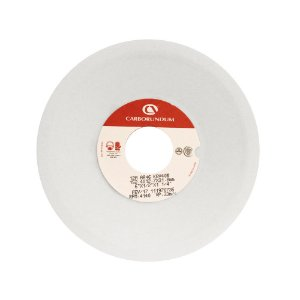 Caixa com 20 Rebolo Ferramentaria Óxido de Alumínio Branco Prato 152,4 x 12,7 x 31,75 mm 12A AA46 K8V40W