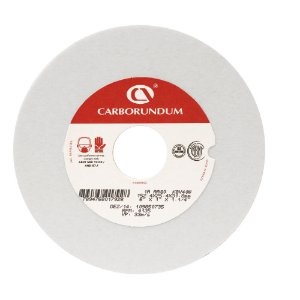 Caixa com 10 Rebolo Ferramentaria Óxido de Alumínio Branco Reto 152,4 x 25,4 x 31,75 mm 1A AA80 K8V40W