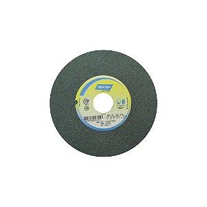 Rebolo Metal Duro Carbeto de Silício Verde Reto 177,80 x 25,40 x 31,75 mm 39C100KVK Caixa com 3