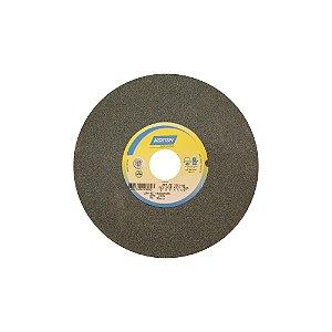 Rebolo Metal Duro Carbeto de Silício Verde Reto 203,20 x 25,40 x 31,75 mm 39C100KVK Caixa com 3
