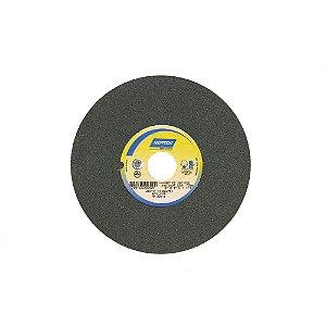 Rebolo Metal Duro Carbeto de Silício Verde Reto 203,20 x 25,40 x 31,75 mm 39C120KVK Caixa com 3