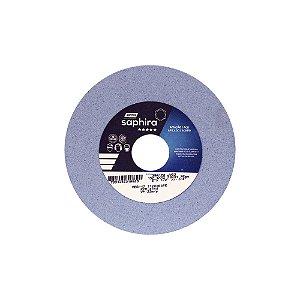 Caixa com 3 Rebolo Saphira Ferramentaria Premium Óxido de Alumínio Cerâmico Reto 152,40 x 12,70 x 31,75 mm 38A120JVS3