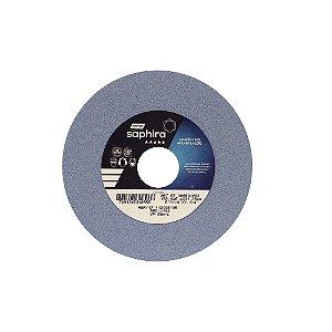 Caixa com 3 Rebolo Saphira Ferramentaria Premium Óxido de Alumínio Cerâmico Reto 152,40 x 6,40 x 31,75 mm 38A80JVS3