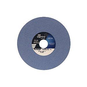 Rebolo Saphira Ferramentaria Premium Óxido de Alumínio Cerâmico Reto 203,20 x 12,70 x 31,75 mm 38A80JVS3 Caixa com 3