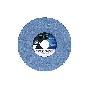 Caixa com 3 Rebolo Saphira Ferramentaria Premium Óxido de Alumínio Cerâmico Reto 203,20 x 19 x 31,75 mm 38A80JVS3