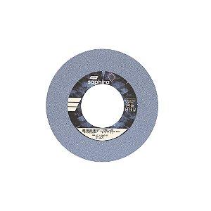 Caixa com 3 Rebolo Saphira Ferramentaria Premium Óxido de Alumínio Cerâmico Reto 203,20 x 25,40 x 76,20 mm 38A60JVS3