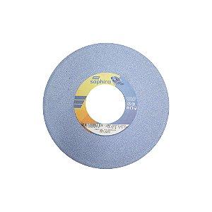 Caixa com 1 Rebolo Saphira Ferramentaria Premium Óxido de Alumínio Cerâmico Reto 254 x 19,1 x 76,2 mm 5NQ60-JVS3