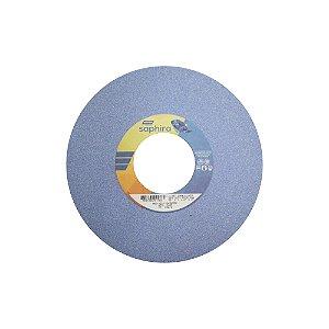 Caixa com 1 Rebolo Saphira Ferramentaria Premium Óxido de Alumínio Cerâmico Reto 254 x 31,8 x 76,2 mm 5NQ60-JVS3