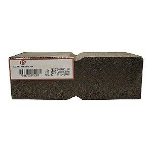 Caixa com 12 Rebolo Tijolo Manual Óxido de Alumínio Marmoraristas e Graniteiros 152,4 x 76,2 x 50,80 mm TJ PE-72 Grão 60