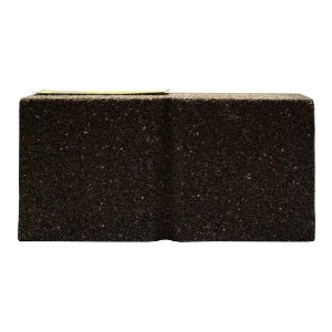 Rebolo Tijolo Manual Óxido de Alumínio Marmoraristas e Graniteiros 152,4 x 76,2 x 50,80 mm TM MAxi Grão 24 Caixa com 12