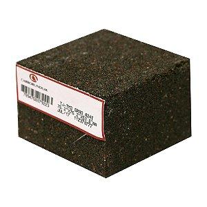 Caixa com 12 Rebolo Tijolo Manual Óxido de Alumínio Marmoraristas e Graniteiros 76,2 x 76,2 x 50,80 mm TJ PE-80 Grão 24