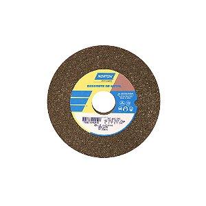 Rebolo Uso Geral Desbaste de Metal Óxido de Alumínio Marrom Reto 152,4 x 25,4 x 31,75 mm ART A46 OVS Caixa com 3