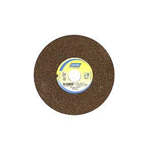 Caixa com 3 Rebolo Uso Geral Desbaste de Metal Óxido de Alumínio Marrom Reto 203,20 x 19 x 31,75 mm A36QVS