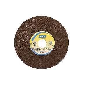 Caixa com 3 Rebolo Uso Geral Desbaste de Metal Óxido de Alumínio Marrom Reto 203,20 x 19 x 31,75 mm A46OVS