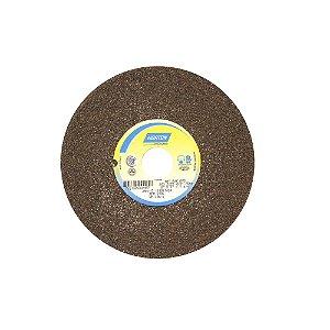 Caixa com 3 Rebolo Uso Geral Desbaste de Metal Óxido de Alumínio Marrom Reto 203,20 x 25,40 x 31,75 mm A36QVS