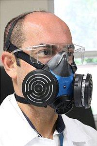 Respirador / Máscara Semifacial Caixa com 2