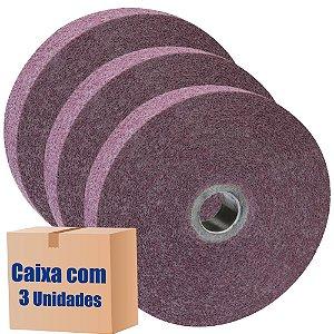 Caixa com 3 Roda Convoluta GP Densidade 1-9 SF 254 x 25 x 127 mm
