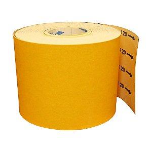 Rolo de Lixa Adalox Papel G125 Grão 120 Rolo 150 x 45 m Pacote com 1