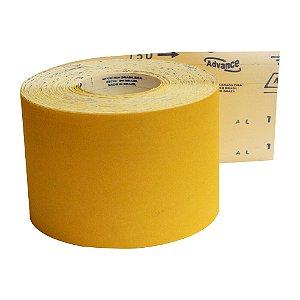 Rolo de Lixa Adalox Papel G125 Grão 150 Rolo 120 x 45 m Pacote com 1