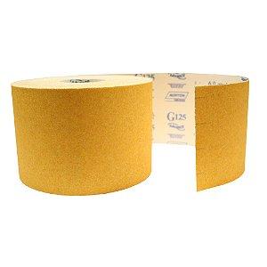 Rolo de Lixa Adalox Papel G125 Grão 60 Rolo 150 x 45 m Caixa com 2