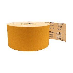 Pacote com 1 Rolo de Lixa Adalox Papel G125 Grão 80 Rolo 150 x 100 m