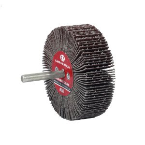 Caixa com 12 Roda de Lixa Flap PG Mini Kontour MK com Haste CARBO Grão 60 75 x 25 mm