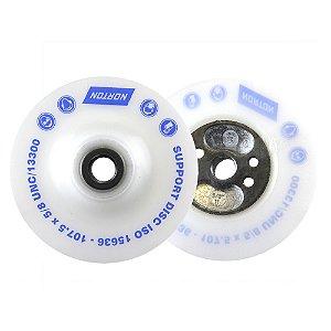 Caixa com 5 Suporte de Nylon para disco de Fibra 115 mm Rosca 5/8