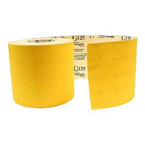 Pacote com 1 Rolo de Lixa Adalox Papel G125 Grão 220 Rolo 150 x 45 m