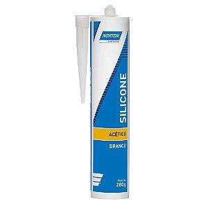 Silicone Acético Branco 280 g Caixa com 12