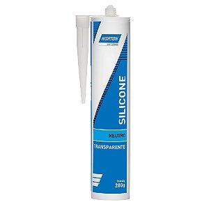 Silicone Neutro Transparente 280 g Caixa com 12