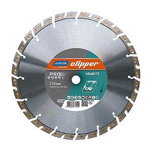 Caixa com 1 Disco de Corte Clipper Diamantado iHD Granite 230 x 22,23 mm