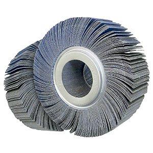 Roda de Lixa Flap PG Polikontour PK R363 Óxido de Alumínio Azul Grão 100 - 50 x 150 mm