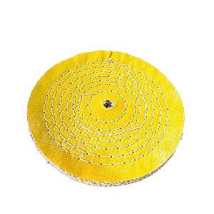 Disco de Polimento Costurado Sisal Compacto - 200 mm