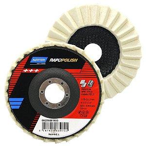 Disco de Polimento Rapid Polish Feltro 115x22 mm