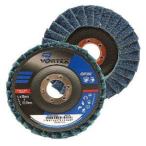 Disco Flap Vortex Muito Fino Azul 115 x 22 mm