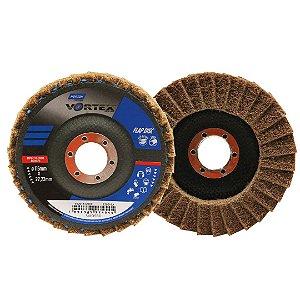 Disco Flap Vortex Grosso Marrom 115 x 22 mm