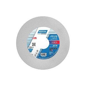 Rebolo Afiação e Retíficação Óxido de Alumínio Branco Reto 152,4 x 19,0 x 31,75 mm ART FE 38A100K