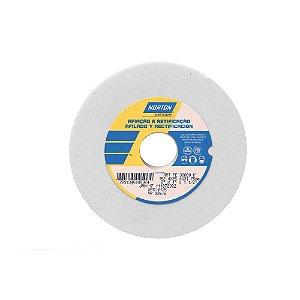 Rebolo Afiação e Retíficação Óxido de Alumínio Branco Reto 152,4 x 25,4 x 31,75 mm ART FE 38A80K