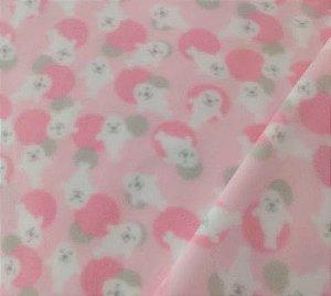 Pijama infantil Foca Rosa