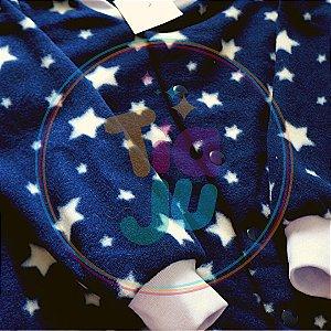 Pijama infantil Estrelas azul marinho