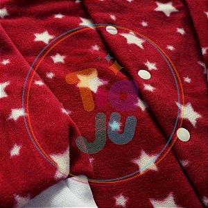 Pijama infantil Estrelas vermelho