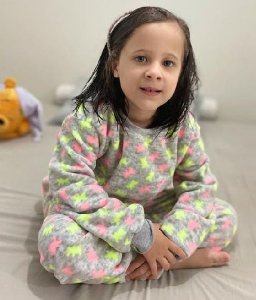 Pijama Infantil Neon