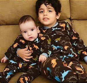 Pijama infantil Dino Azul