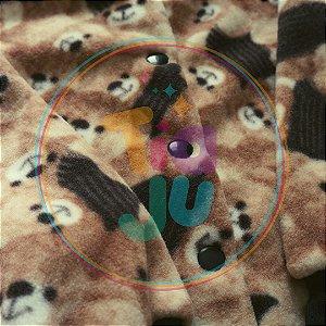 Pijama infantil Urso marrom