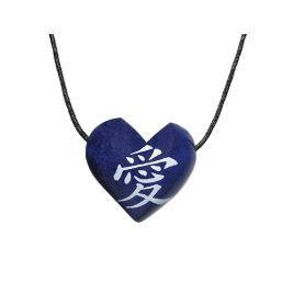 Aromatizador Pessoal - Coração Azul - Símbolo Amor